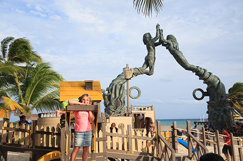 Playground at Playa Del Carmen