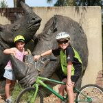 Riding Bike around Dubbo Western Plain Zoo
