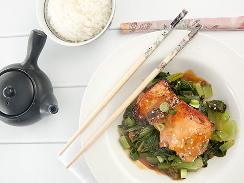 Japanese Miso Glazed Chicken