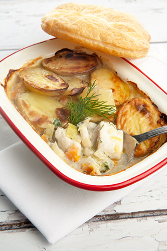 Leek and Fish Pie
