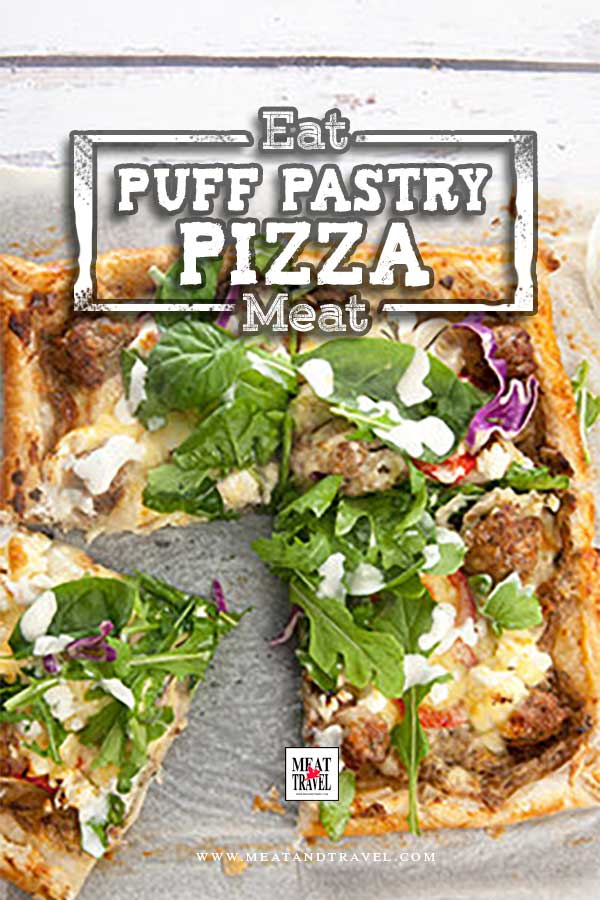 Puff Pastry Pizza Recipe Homemade