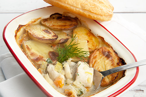 Seafood Fish Pie