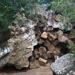 Sawn Rocks Honeycomb rock formation