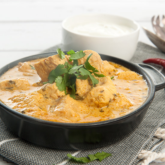 Thermomix Chicken Curry w Yoghurt Submissions
