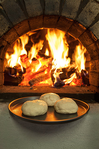 Wood Fired Pizza Dough Proofing