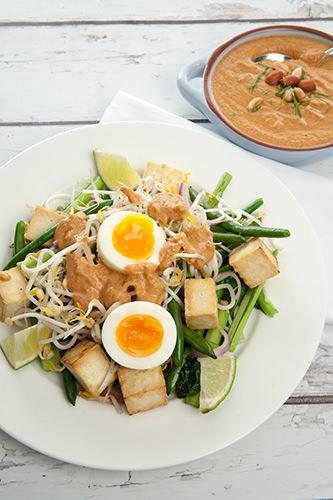 Gado Gado Salad w Satay Sauce