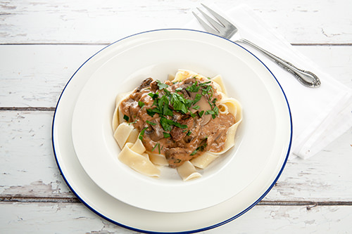 How to make Beef Stroganoff in the slow cooker