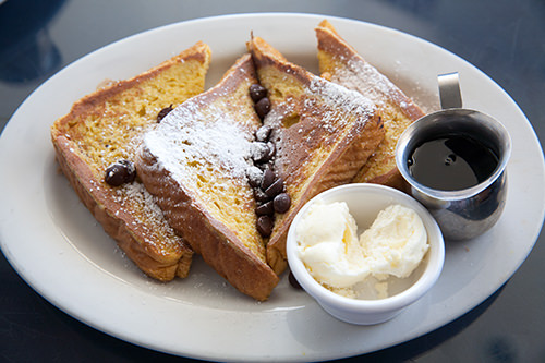 Choc Chip French Toast