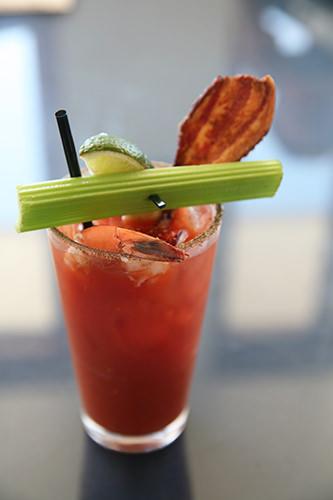 Special Bloody Mary w Prawn & Bacon