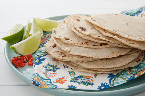 Making Corn Tortillas to go with our Mexican Pulled Chicken