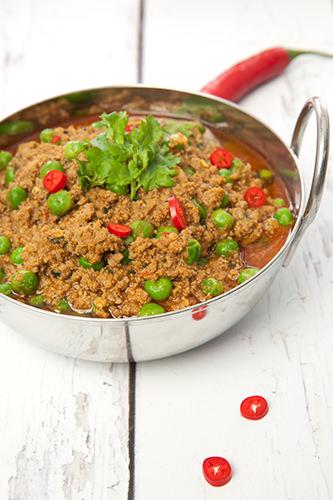 Indian Keema Matar Recipe