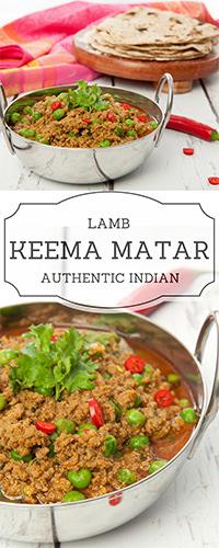 Indian Spiced Lamb Keema Matar Pin