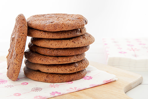 Malted Milo Cookie Stack