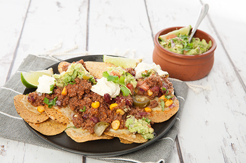 How to make Mexican Chili Nachos