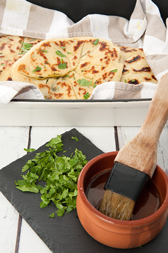 Naan Bread with Niter Kibbeh