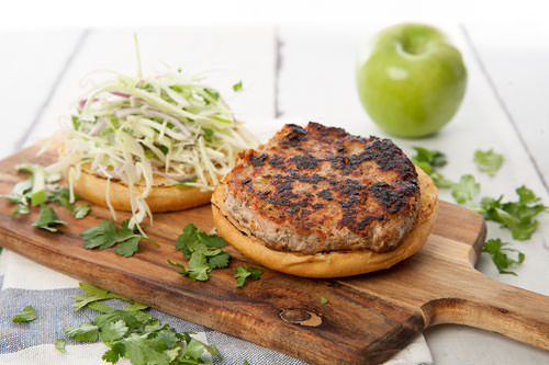 How to make Pork & Fennel Burgers