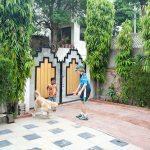 jaipur-homestay-front-yard