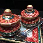Indian Sugar & Spice Jars