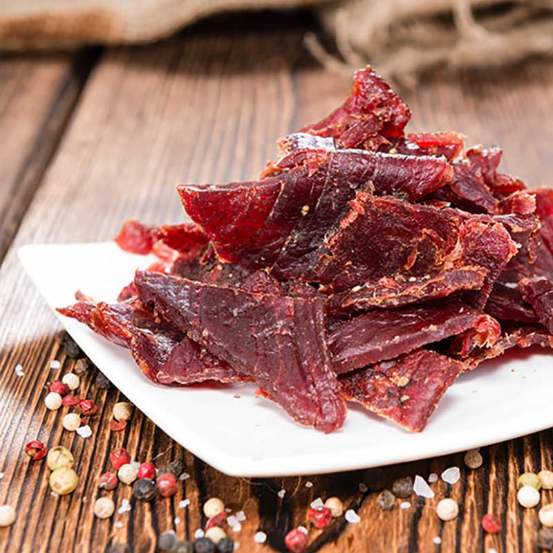 BBQ Style Beef Jerky - easy homemade jerky recipe