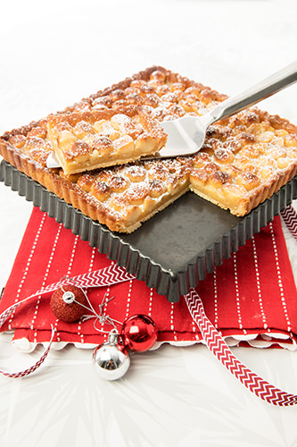 Macadamia & Caramel Tart