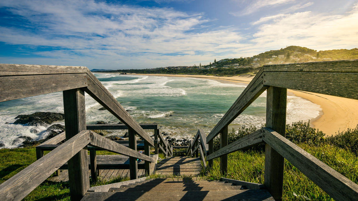 Port Macquarie Lighthouse Beach NSW Australia