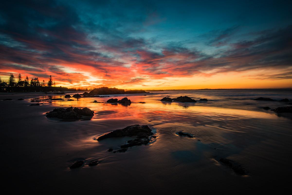 Town Beach Port Macquarie Sunset