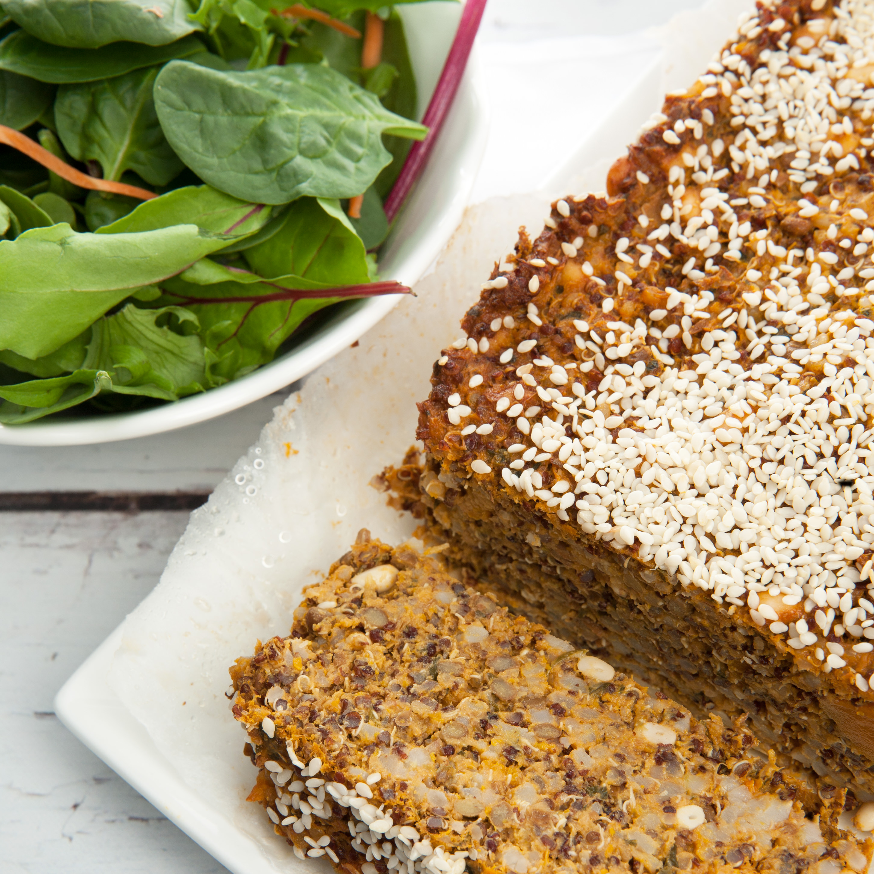 Close Up Quinoa Loaf