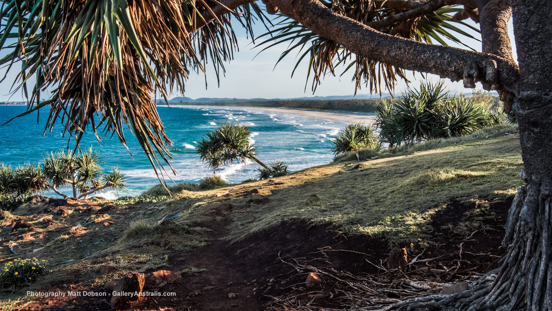 Fingal Head view of Dreamtime Beach Northern NSW