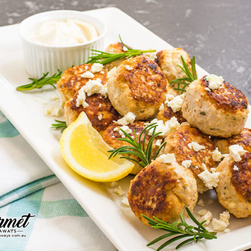 Chicken and Feta Meatballs