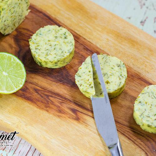 Cilantro Lime Compound Butter Condiment