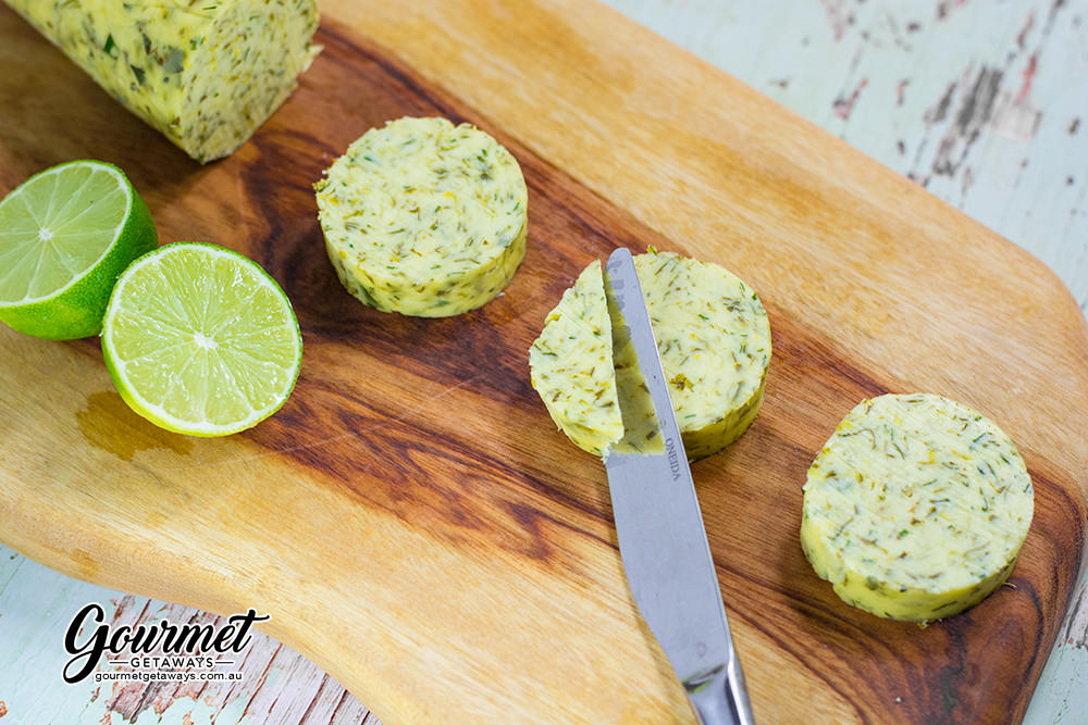 Cilantro Lime Compound Butter Condiment