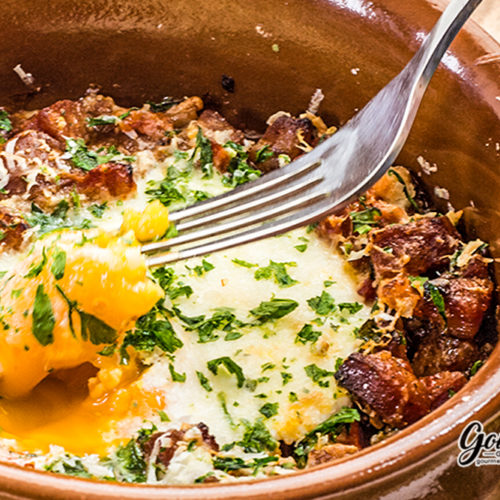 Spanish Eggs Breakfast Delicious and Spicy
