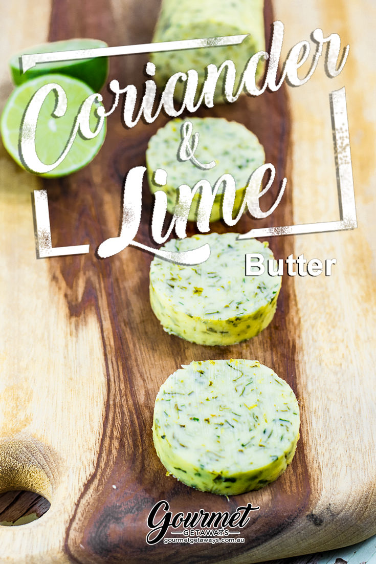 Coriander and Lime Compound Butter