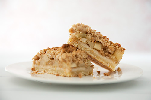 Apple Streusel Slice Recipe