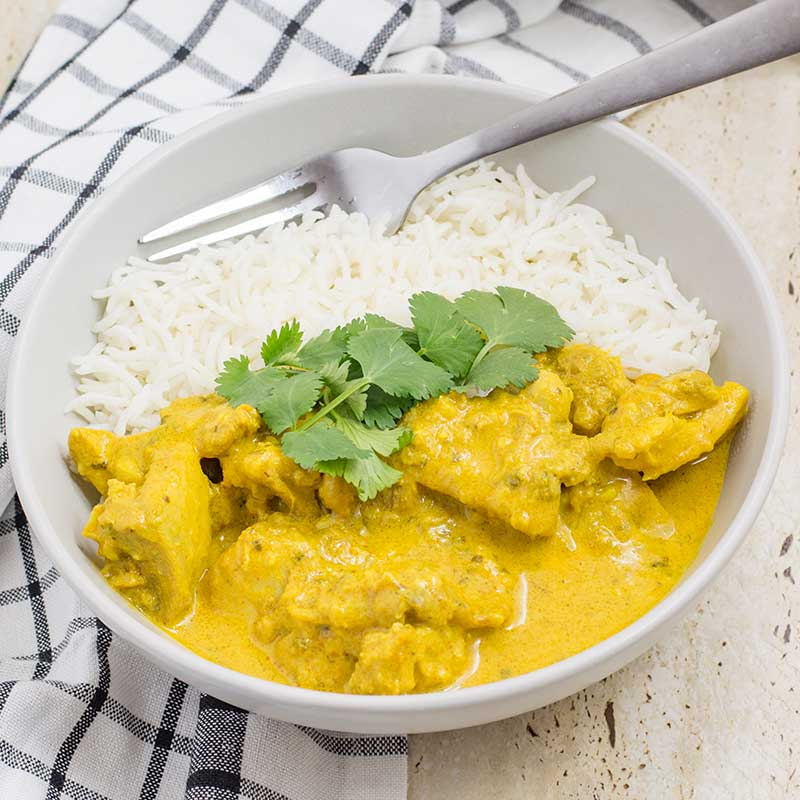 Easy Chicken Curry Thermomix or Stove Top