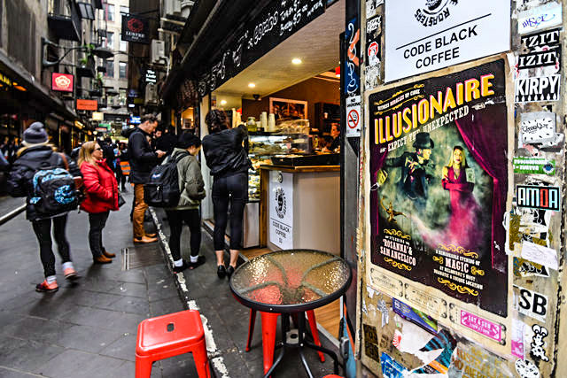 Laneway Cafes in Melbourne CBD