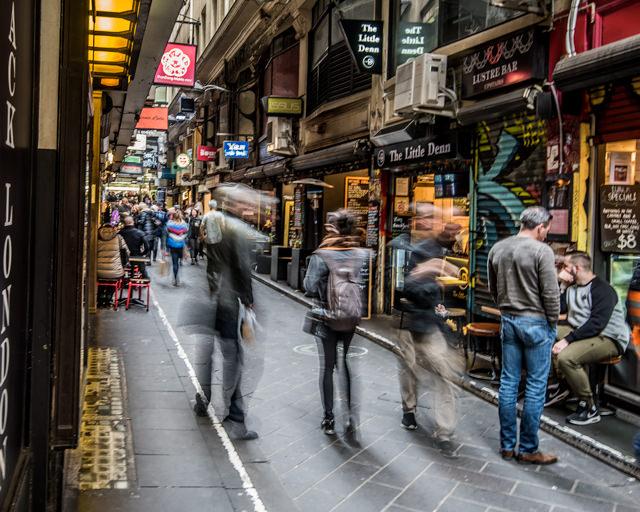 Laneway cafe's Melbourne
