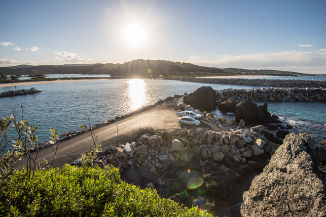 View from Bar Rock Lookout Narooma