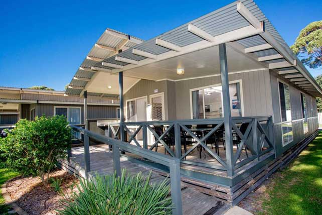 4.5 star Cabins at Narooma Big 4 Holiday Park