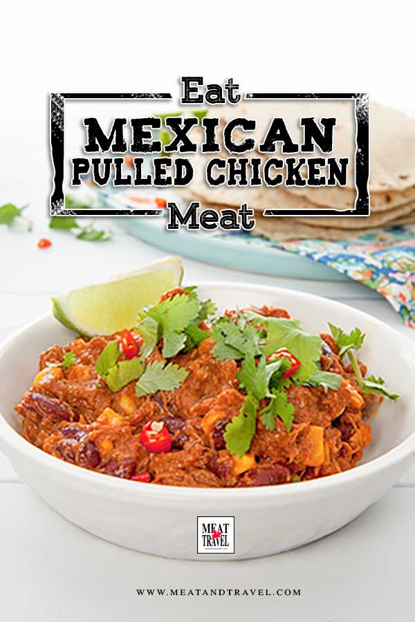 Authentic Mexican Slow Cooker Pulled Chicken