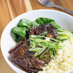 Chinese Braised Beef Cheeks