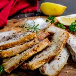 "Lemon Herb Pork Spare Ribs ""With Crackling"" – Too Easy"