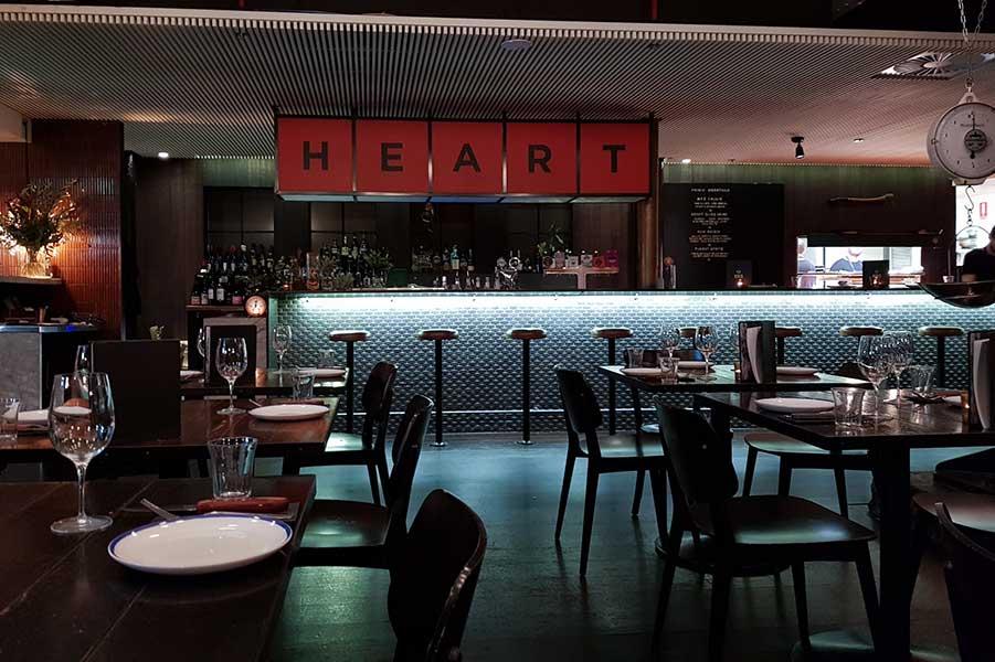 Meatmaiden Bar & Grill on Little Collins St, Melbourne, Australia