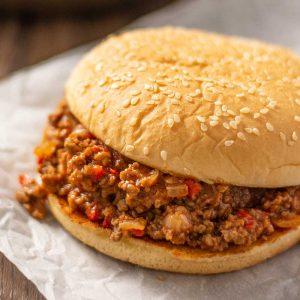 Sloppy Joes - easy American comfort food recipe